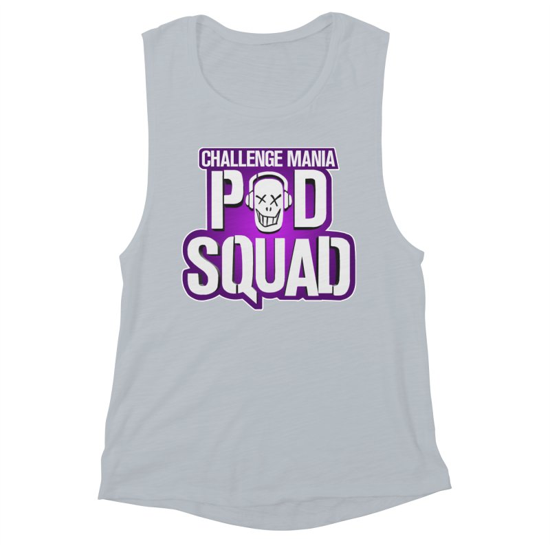 Pod Squad Women's Muscle Tank by Challenge Mania Shop