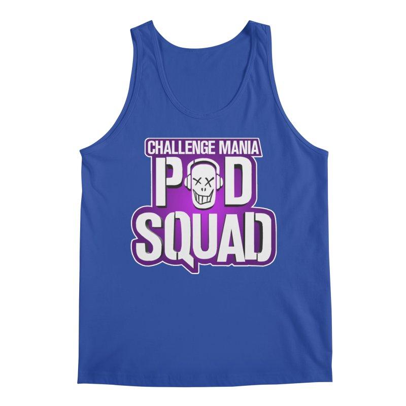 Pod Squad Men's Regular Tank by Challenge Mania Shop