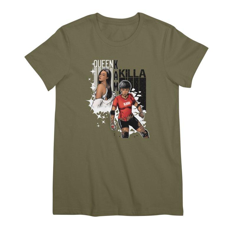 KAM Women's Premium T-Shirt by Challenge Mania Shop