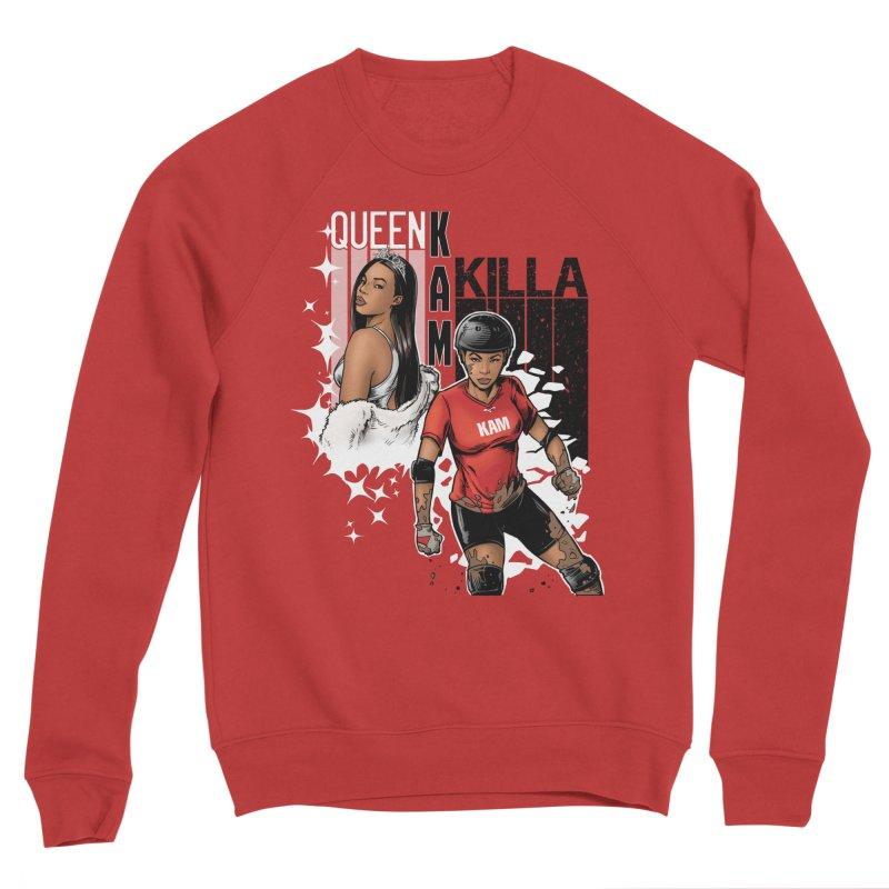 KAM Women's Sponge Fleece Sweatshirt by Challenge Mania Shop
