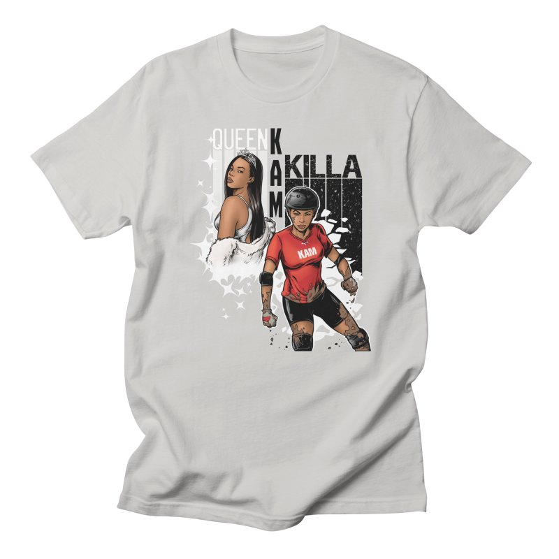 KAM Women's Regular Unisex T-Shirt by Challenge Mania Shop
