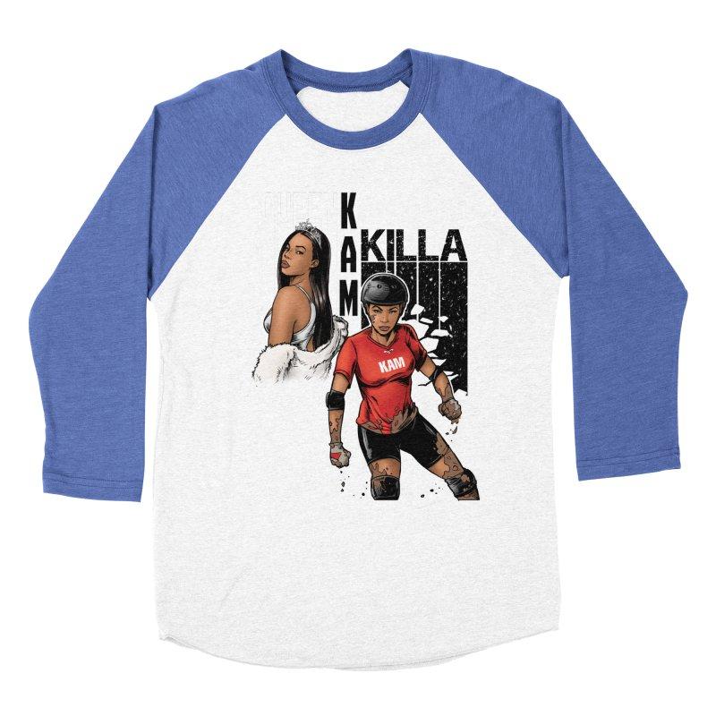 KAM Men's Baseball Triblend Longsleeve T-Shirt by Challenge Mania Shop