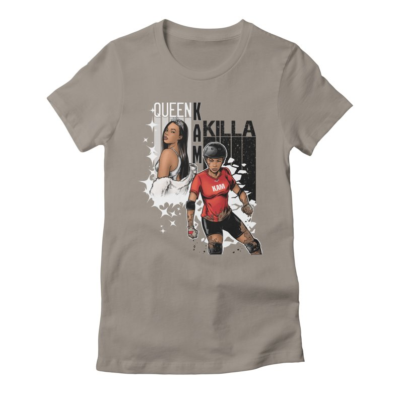 KAM Women's Fitted T-Shirt by Challenge Mania Shop