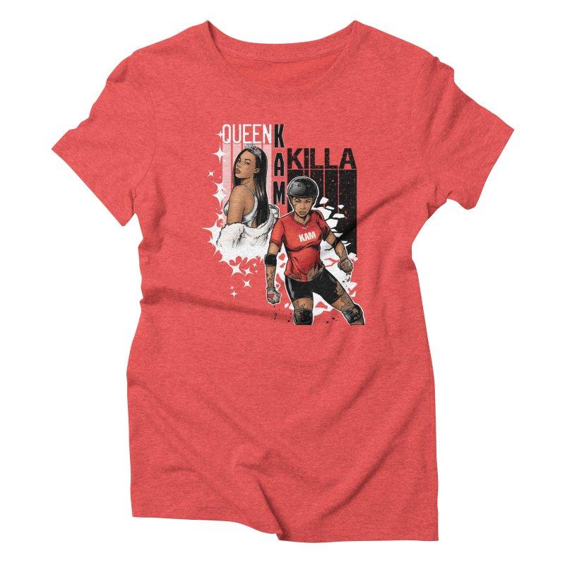 KAM Women's Triblend T-Shirt by Challenge Mania Shop