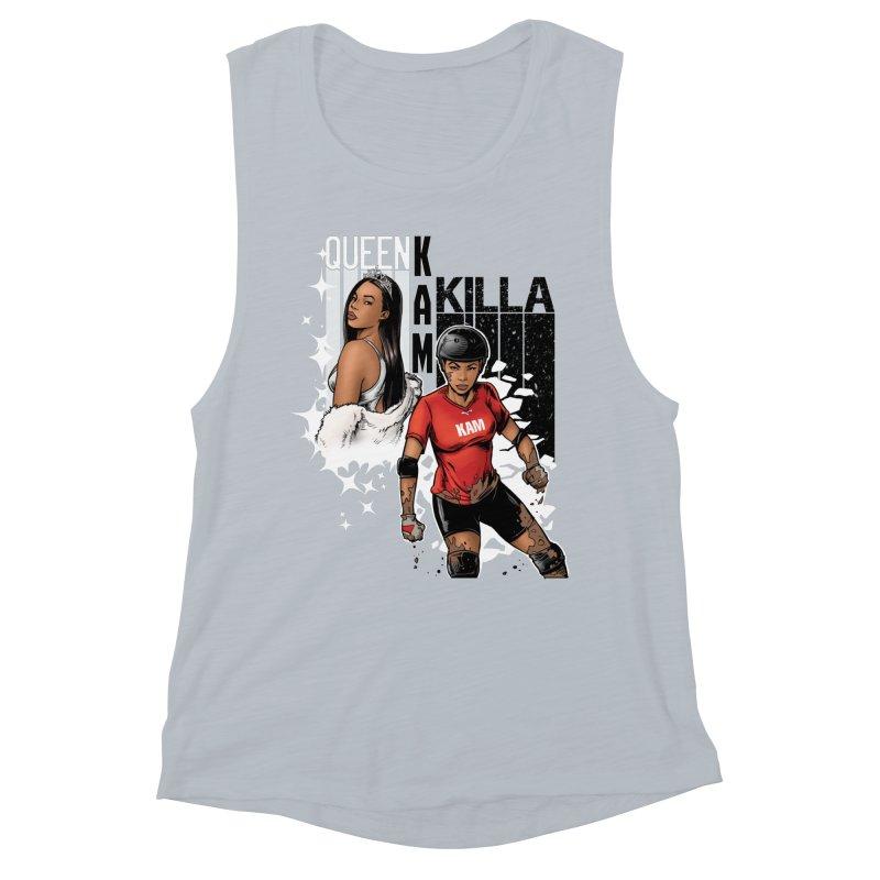 KAM Women's Muscle Tank by Challenge Mania Shop