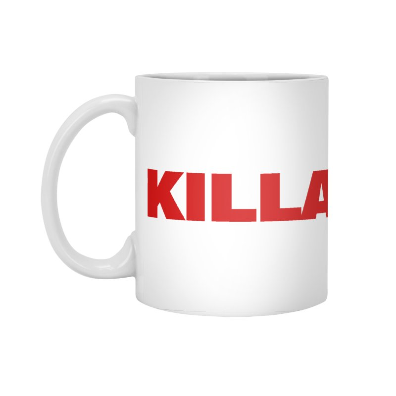 KILLA Accessories Standard Mug by Challenge Mania Shop