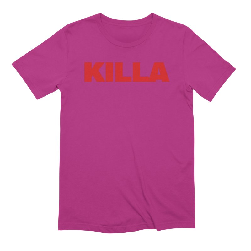 KILLA Men's Extra Soft T-Shirt by Challenge Mania Shop