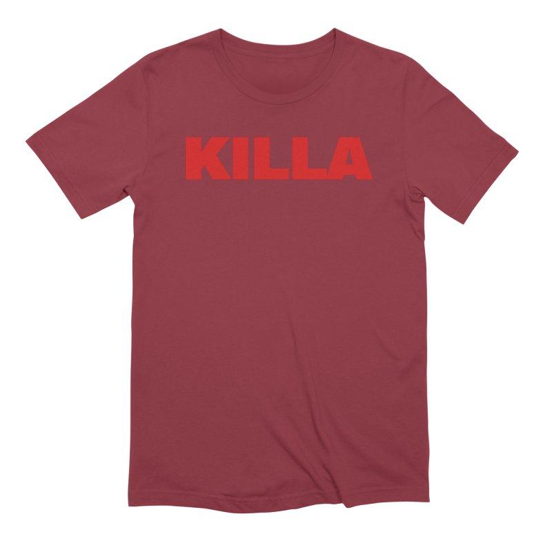 KILLA Men's Extra Soft T-Shirt by Challenge Mania Shop