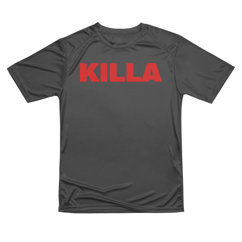 KILLA Men's Performance T-Shirt by Challenge Mania Shop