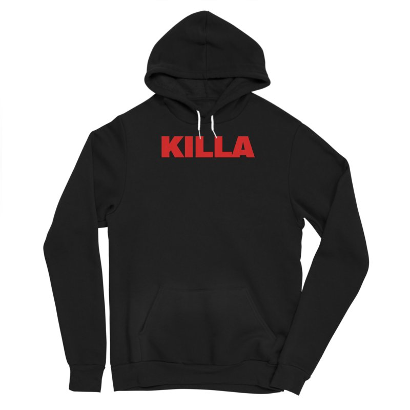 KILLA Women's Sponge Fleece Pullover Hoody by Challenge Mania Shop