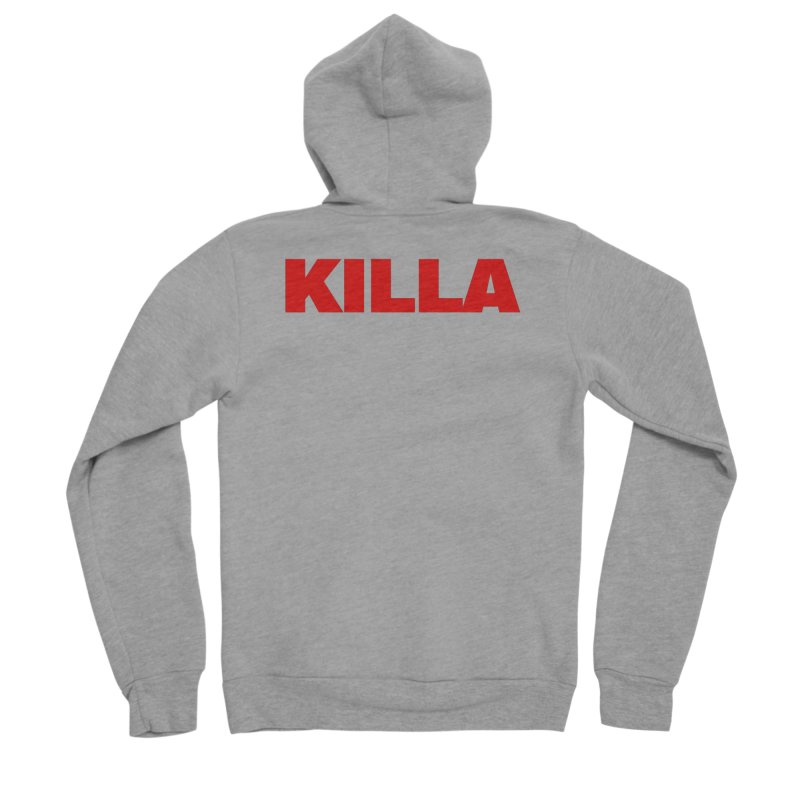 KILLA Women's Sponge Fleece Zip-Up Hoody by Challenge Mania Shop