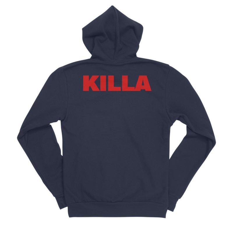 KILLA Women's Sponge Fleece Zip-Up Hoody by Challenge Mania Shop
