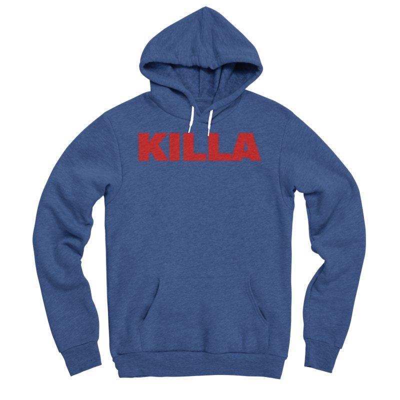 KILLA Men's Sponge Fleece Pullover Hoody by Challenge Mania Shop