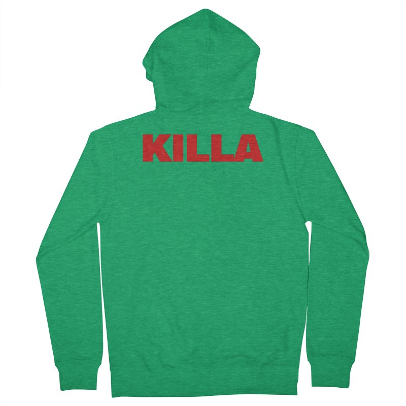 KILLA Men's Zip-Up Hoody by Challenge Mania Shop