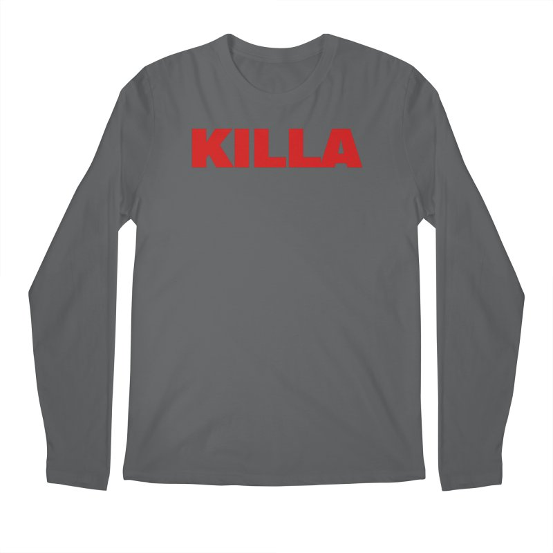 KILLA Men's Longsleeve T-Shirt by Challenge Mania Shop