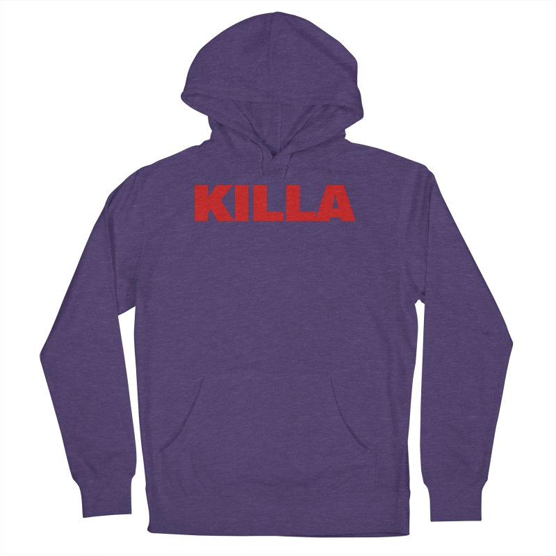 KILLA Men's French Terry Pullover Hoody by Challenge Mania Shop