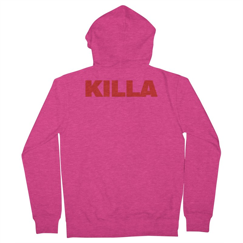KILLA Women's French Terry Zip-Up Hoody by Challenge Mania Shop