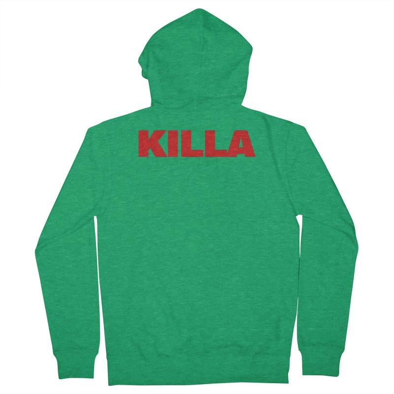 KILLA Men's Zip-Up Hoody by Challenge Mania Shop