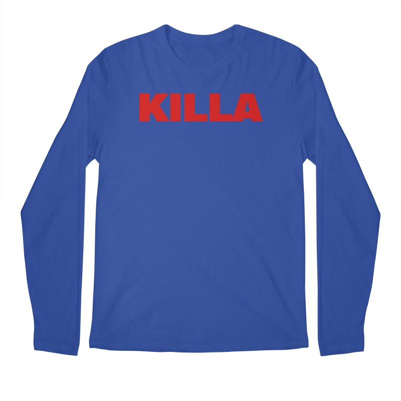 KILLA Men's Regular Longsleeve T-Shirt by Challenge Mania Shop