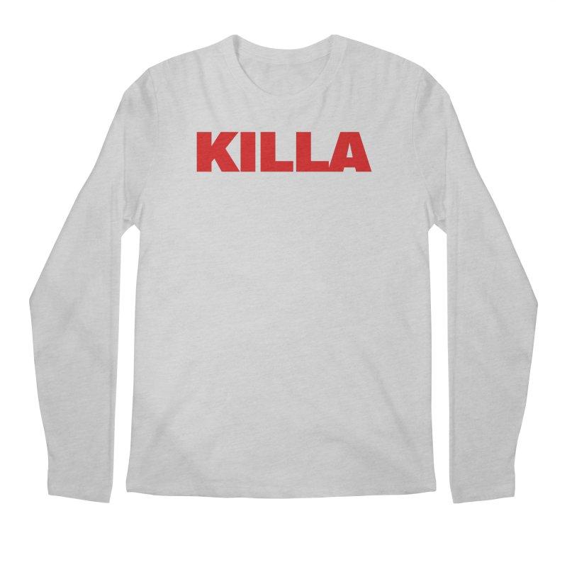 KILLA Men's Regular Longsleeve T-Shirt by Challenge Mania Shop