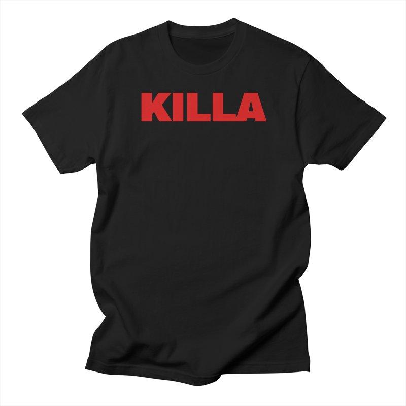 KILLA Men's Regular T-Shirt by Challenge Mania Shop