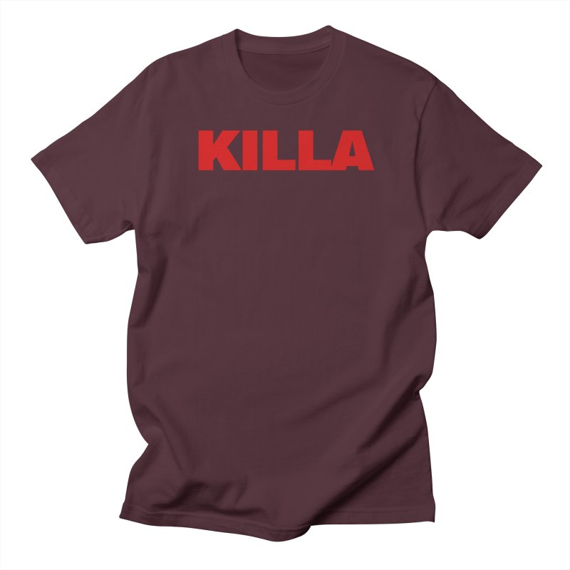 KILLA Women's Regular Unisex T-Shirt by Challenge Mania Shop