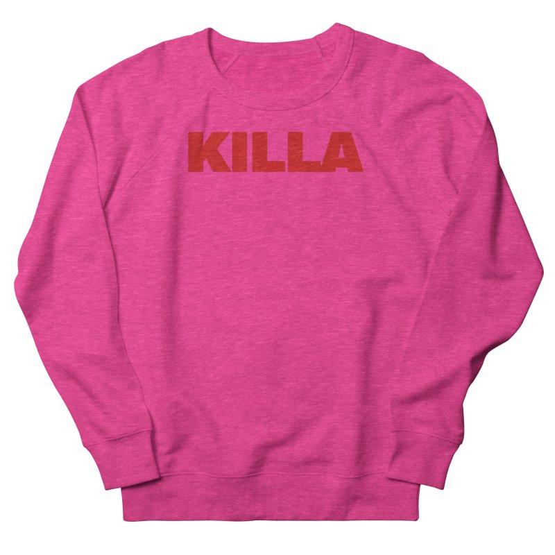 KILLA Men's French Terry Sweatshirt by Challenge Mania Shop