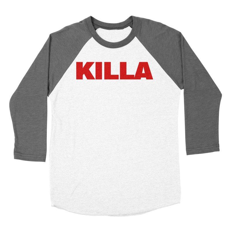 KILLA Women's Baseball Triblend Longsleeve T-Shirt by Challenge Mania Shop