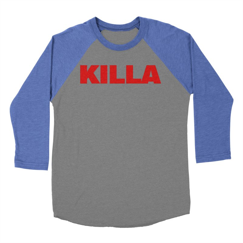KILLA Women's Baseball Triblend Longsleeve T-Shirt by Challenge Mania Shop
