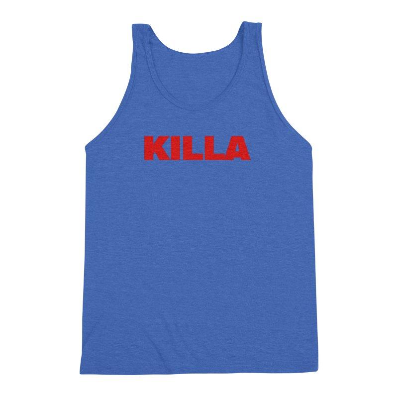 KILLA Men's Triblend Tank by Challenge Mania Shop