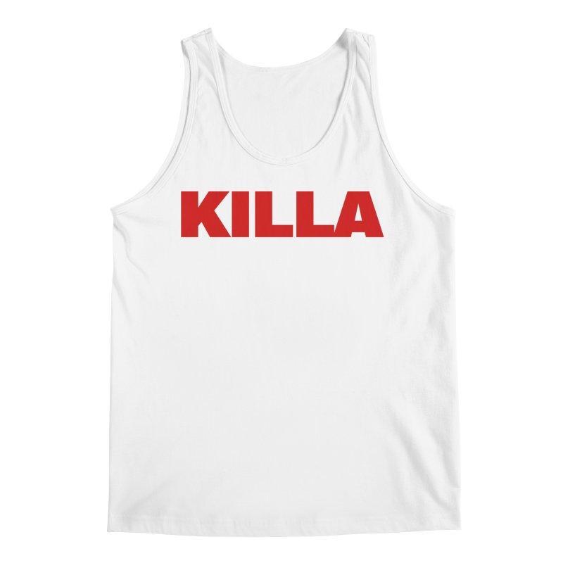 KILLA Men's Regular Tank by Challenge Mania Shop