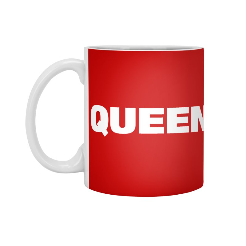 QUEEN Accessories Standard Mug by Challenge Mania Shop