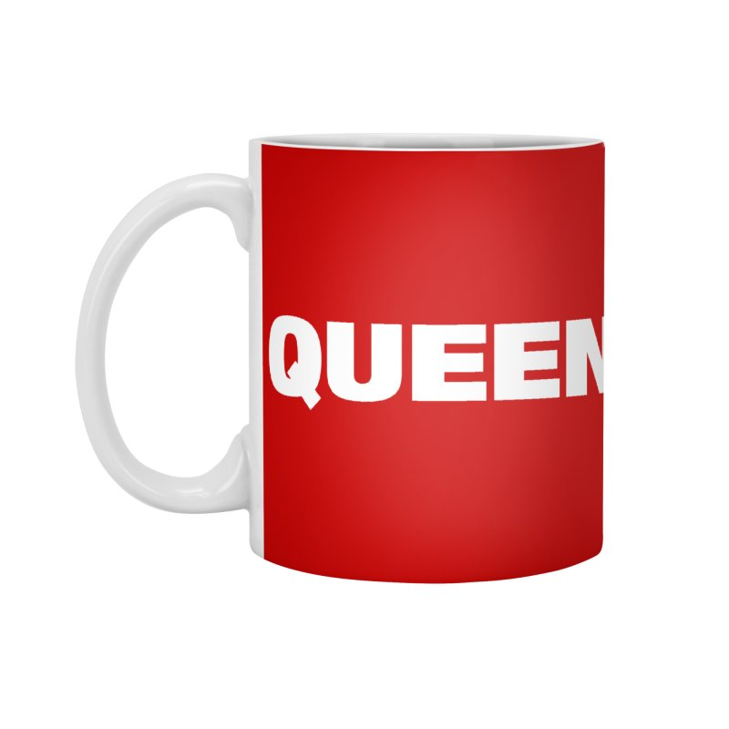 QUEEN Accessories Mug by Challenge Mania Shop