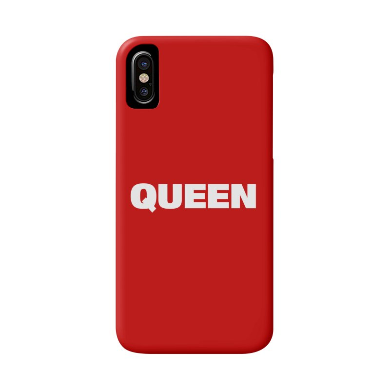 QUEEN Accessories Phone Case by Challenge Mania Shop