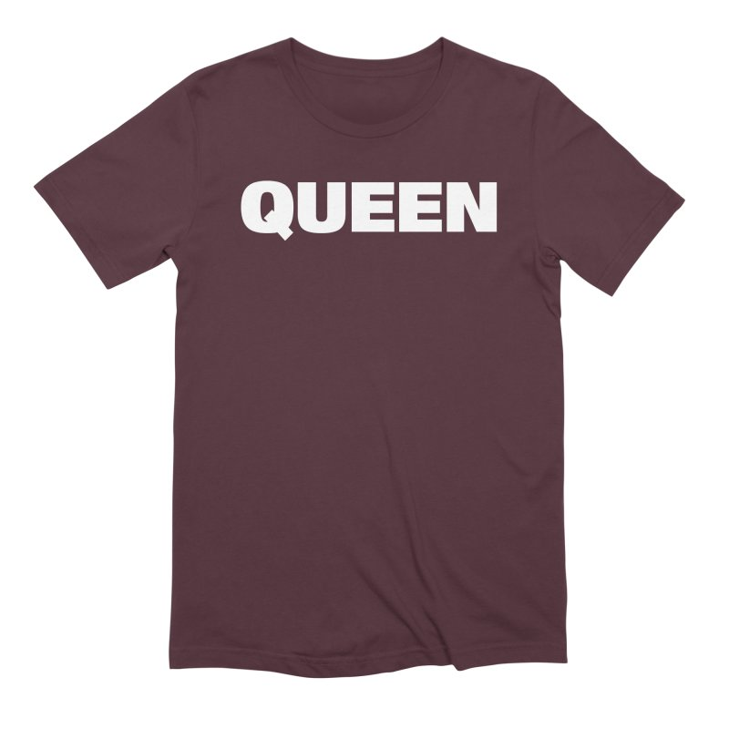 QUEEN Men's Extra Soft T-Shirt by Challenge Mania Shop