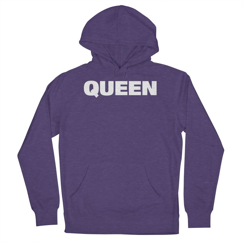 QUEEN Women's French Terry Pullover Hoody by Challenge Mania Shop