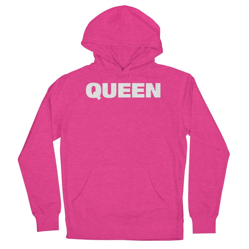 QUEEN Men's French Terry Pullover Hoody by Challenge Mania Shop