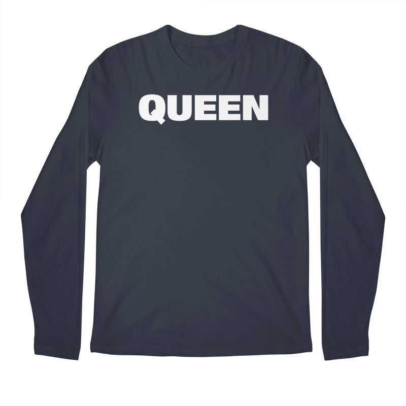QUEEN Men's Regular Longsleeve T-Shirt by Challenge Mania Shop