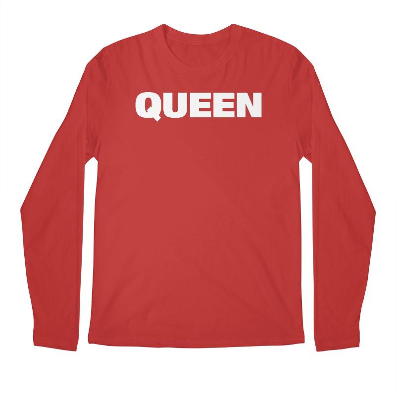 QUEEN Men's Regular Longsleeve T-Shirt by Challenge Mania Shop