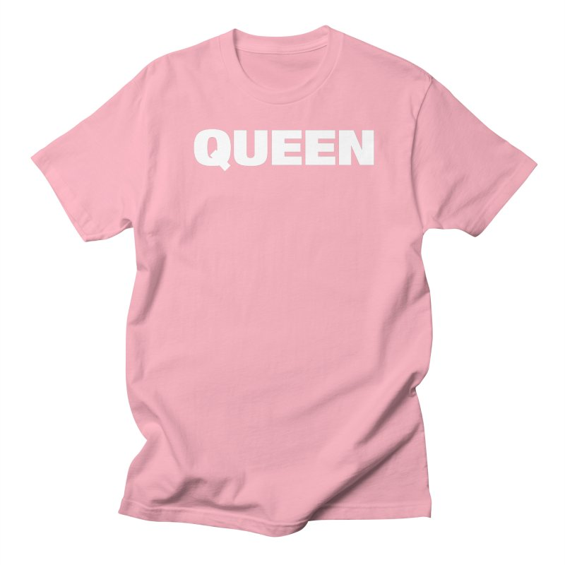 QUEEN Women's Regular Unisex T-Shirt by Challenge Mania Shop