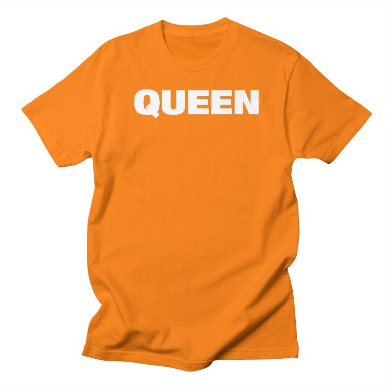 QUEEN Men's Regular T-Shirt by Challenge Mania Shop
