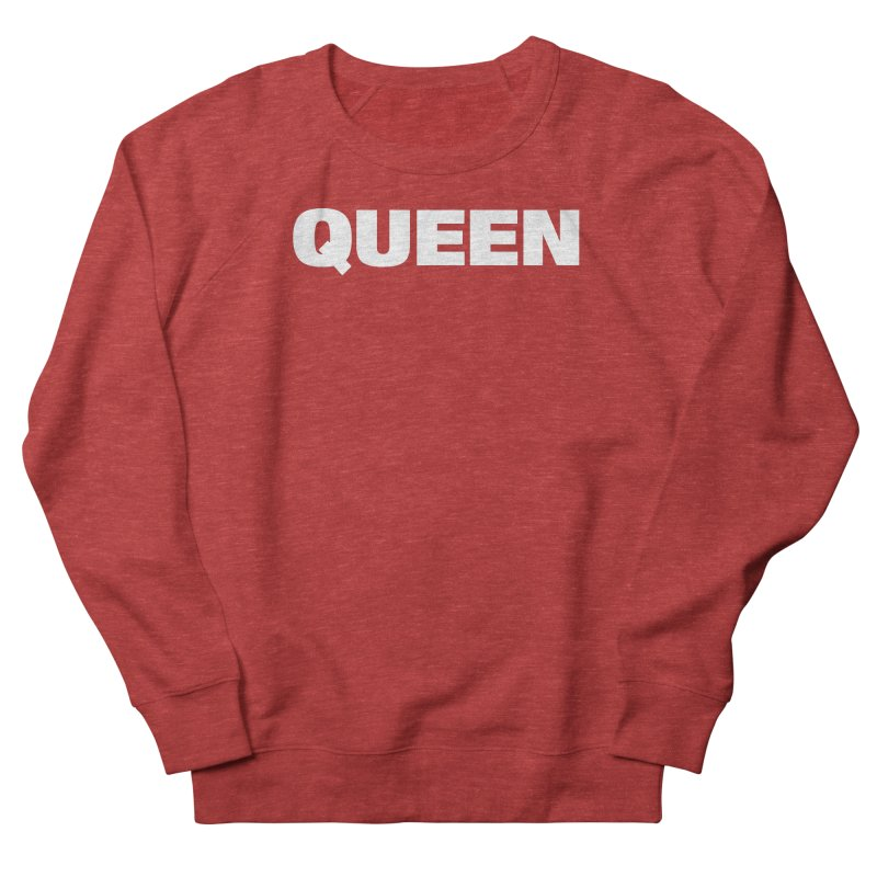 QUEEN Men's French Terry Sweatshirt by Challenge Mania Shop