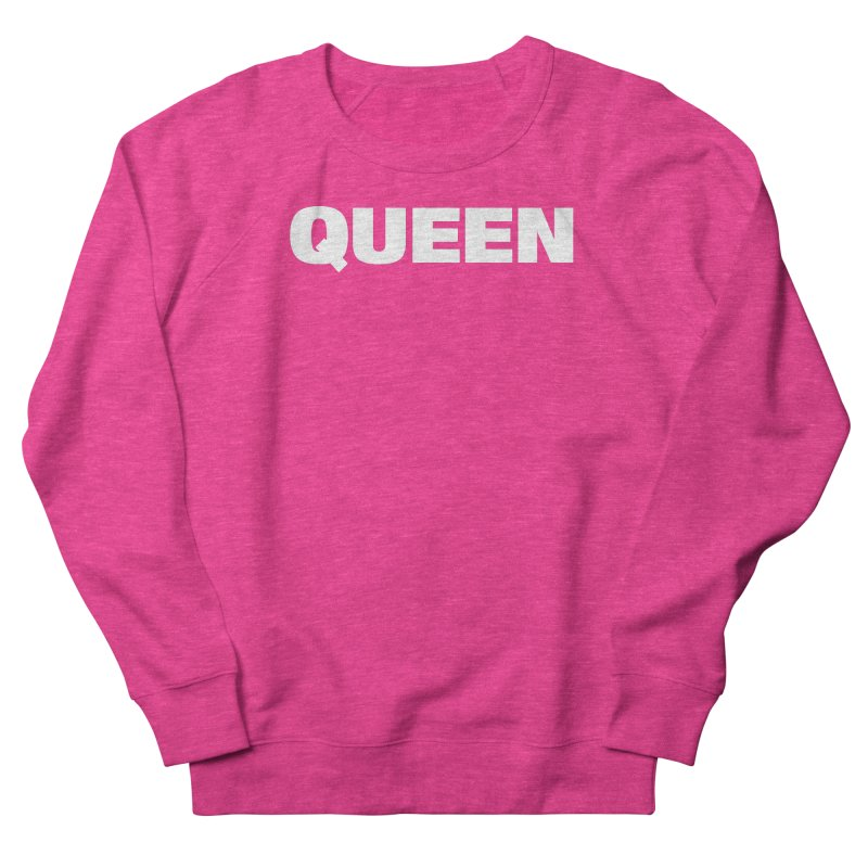 QUEEN Men's French Terry Sweatshirt by Challenge Mania Shop