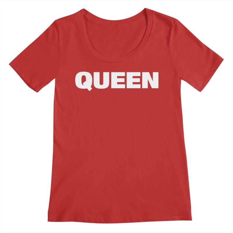 QUEEN Women's Scoop Neck by Challenge Mania Shop