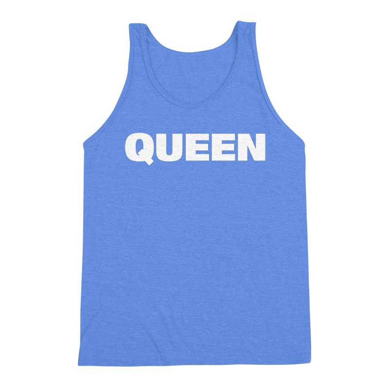 QUEEN Men's Triblend Tank by Challenge Mania Shop