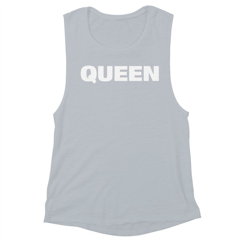 QUEEN Women's Muscle Tank by Challenge Mania Shop