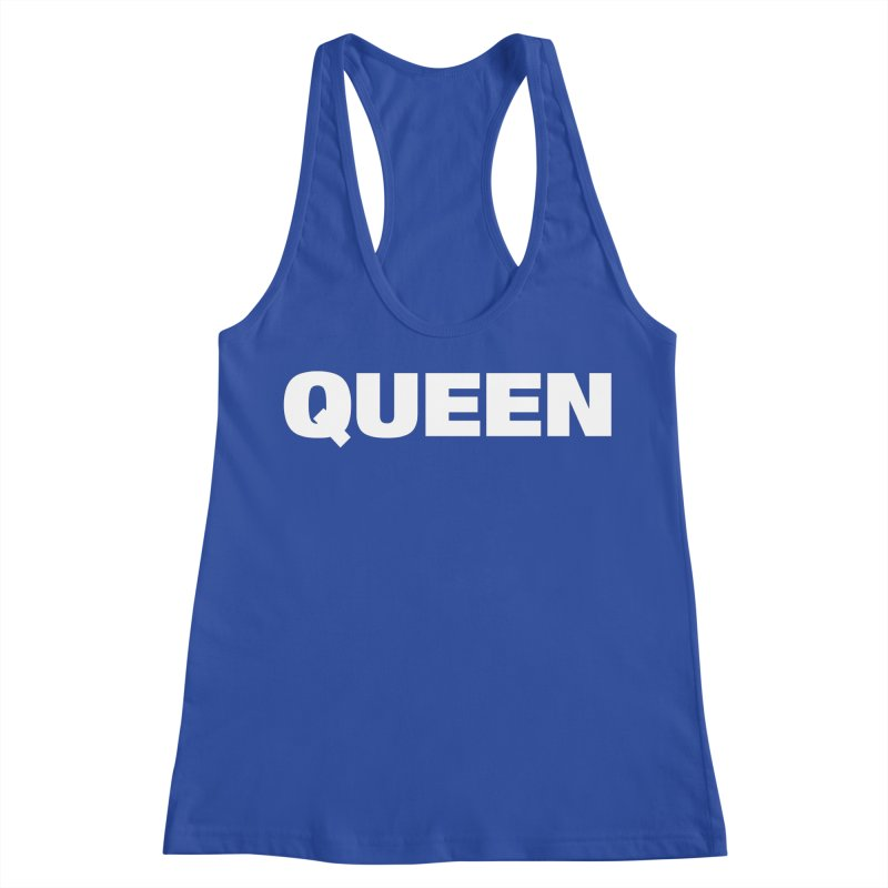 QUEEN Women's Racerback Tank by Challenge Mania Shop