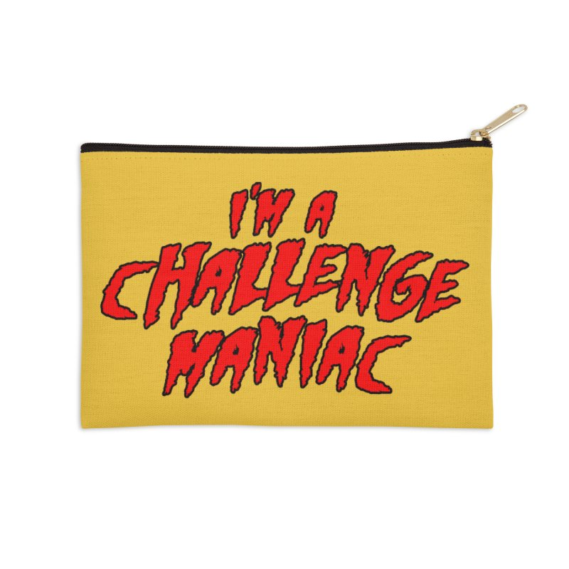 Challenge Maniac Accessories Zip Pouch by Challenge Mania Shop