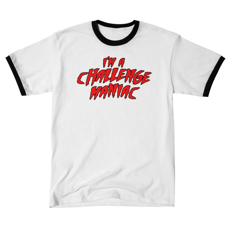 Challenge Maniac Men's T-Shirt by Challenge Mania Shop