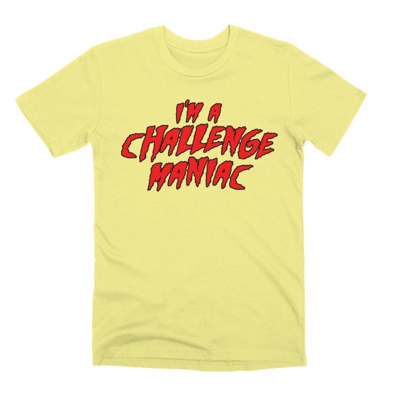 Challenge Maniac Men's Premium T-Shirt by Challenge Mania Shop